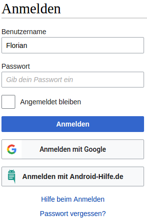 android-hilfe